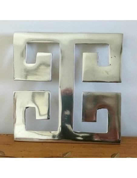 """Dessous de plat en aluminium """" croix celte"""""""