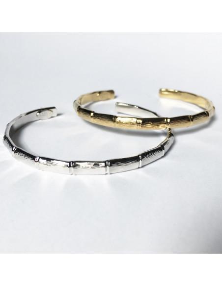 Bracelet jonc design Bambou
