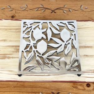 Dessous de plat en métal-motifs citron